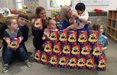 Easter eggs at Dingley's Promise