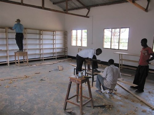 Constructing a school library